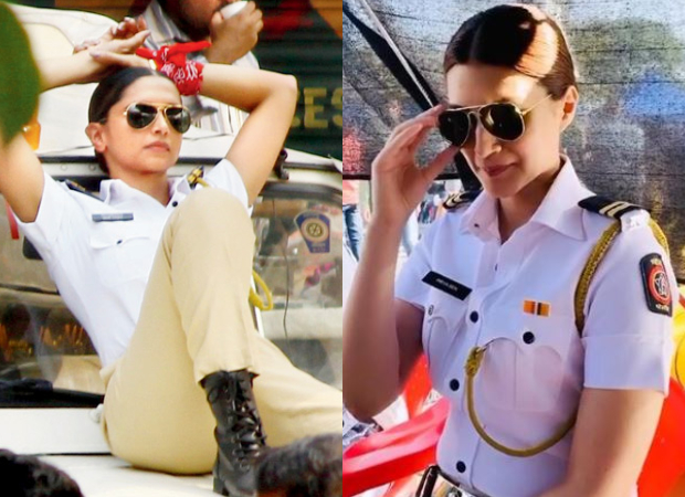 After Deepika Padukone, Kriti Sanon becomes a traffic cop for a television commercial; see pics