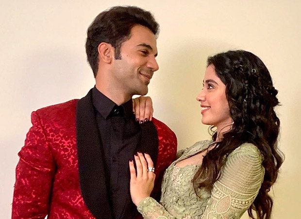 Image result for Rajkummar Rao and Janhvi Kapoor in Roohi Afzana