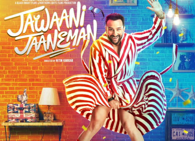Jawaani Jaaneman: Saif Ali Khan and Alaya Furniturewalla get goofy in the latest poster