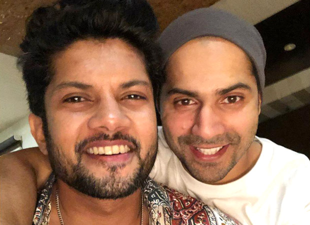 Street Dancer 3D: Varun Dhawan and co-star Sushant Pujari recreate a scene from the film
