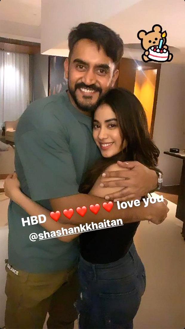 """Jor Se Bolo Happy Birthday"" - Janhvi Kapoor, Ayushmann Khurrana, Varun Dhawan, Arjun Kapoor celebrate Shashank Khaitan's birthday with hilarious chant"