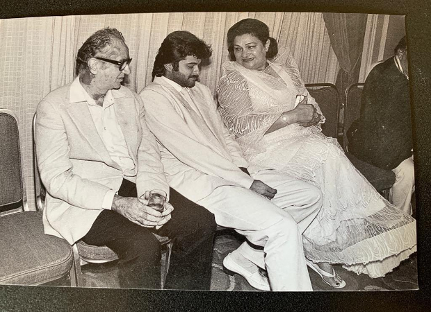 Anil Kapoor shares a heart-warming throwback picture with Krishna Raj Kapoor