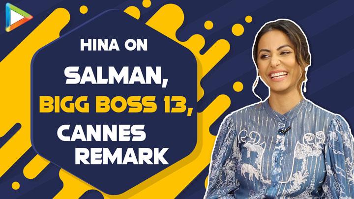 "BIGG BOSS 13 - Salman Khan STANDS for so long like 12-14 hours, he is…"" Hina Khan Cannes Remark"