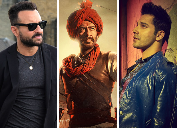 Box Office - Jawaani Jaaneman and Tanhaji - The Unsung Warrior score over 20 crores each, Street Dancer 3D collects over 14 crores in week gone by