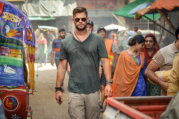 FIRST LOOK: Chris Hemsworth stars in Russo Brothers' edge-of-your-seat thriller Extraction releasing on April 24, 2020