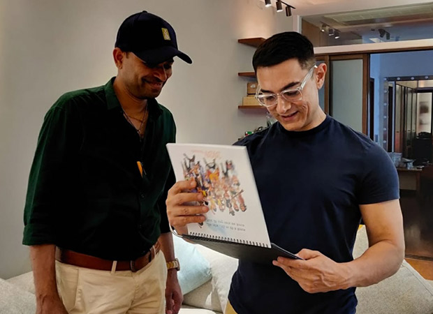 Cartoonist captures Aamir Khan's memorable characters in a calendar, and it's a treat!