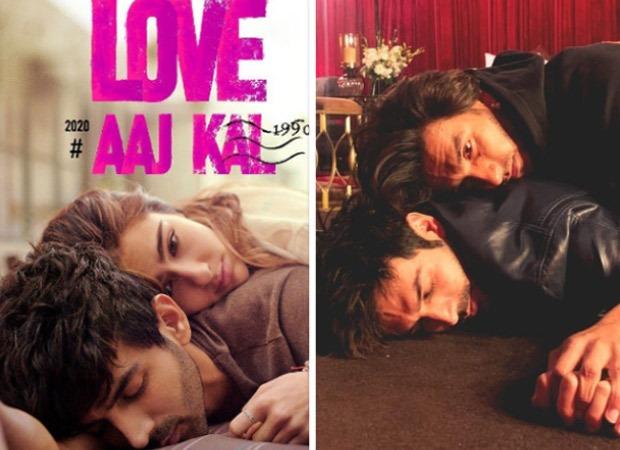 Ranveer Singh replaces Sara Ali Khan to recreate Love Aaj Kal poster with Kartik Aaryan