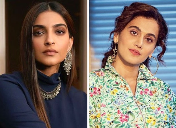 Sonam Kapoor calls Taapsee Pannu 'clutter breaker', Thappad actress responds