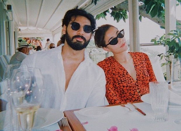 Ahan Shetty shares unseen pictures with his ladylove on her birthday