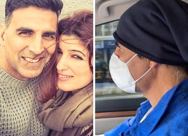 Akshay Kumar and Twinkle Khanna drive to hospital through deserted road amid nationwide lockdown