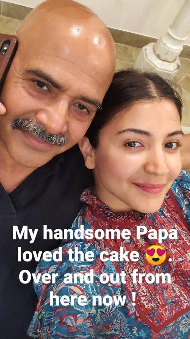 Anushka Sharma Bakes Birthday Cake For Dad Amid Self Quarantine Period Bollywood News Bollywood Hungama