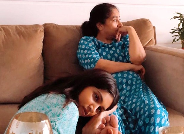 Bhumi Pednekar posts a heart-melting piture with her mother, appeals to people to stay indoor