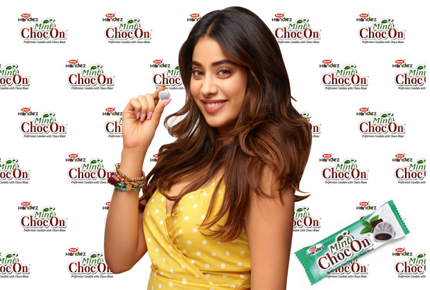Janhvi Kapoor roped in as brand ambassador for Mint ChocOn