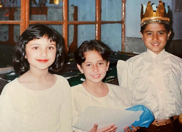 Parineeti Chopra shares a throwback picture from school play with her schoolmates and it is too cute for words