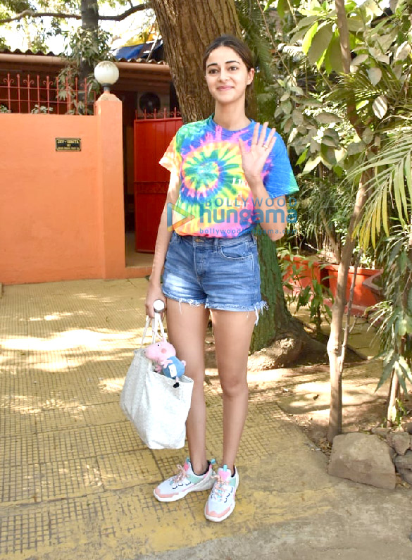 Photos Ananya Panday snapped at a dance class in Versova (2)