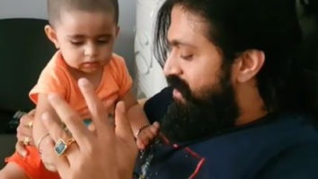 K.G.F. star Yash surrender to his daughter in the adorable video
