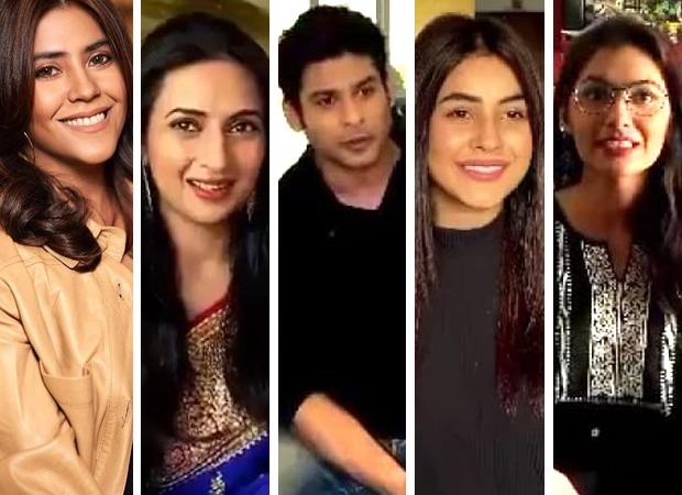 Ekta Kapoor, Divyanka Tripathi, Siddharth Shukla, Shehnaaz Gill, Sriti Jha, JD Majethia and others unite in fight against COVID-19