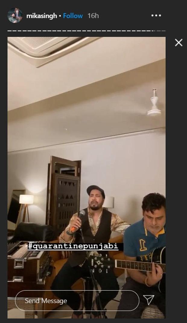 Kapil Sharma and Mika Singh croon Punjabi songs during live jam session