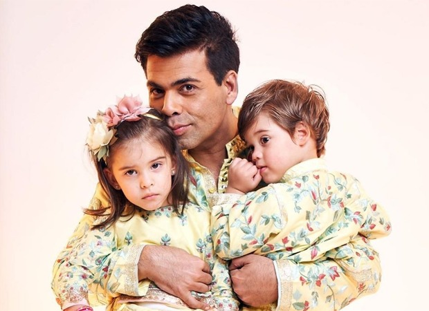 Karan Johar shares how Yash and Roohi sing a 'melodious' song for him