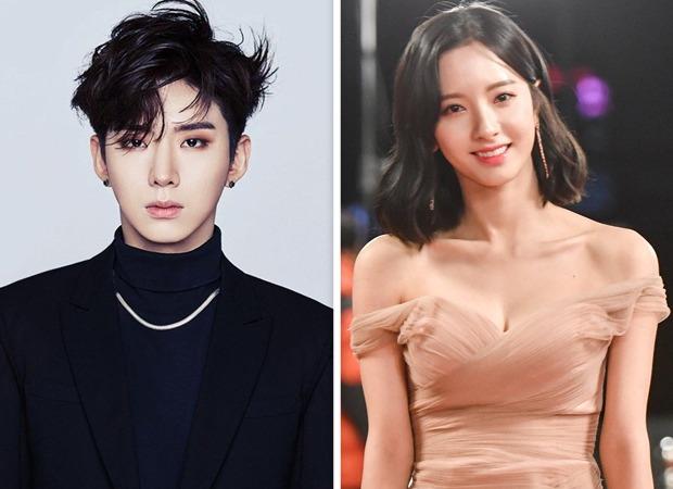 Monsta X's label shuts down dating rumours of Kihyun and WSJN's Bona