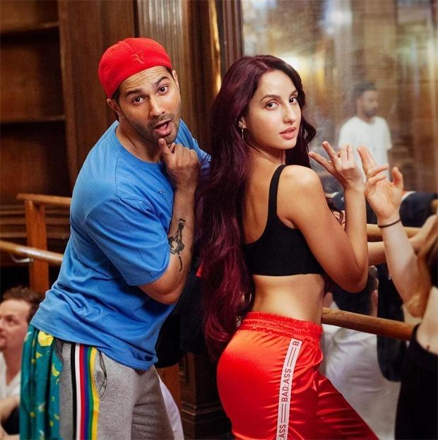 Nora Fatehi shares a throwback video on Varun Dhawan's birthday as they burn the dance floor on 'Dilbar'