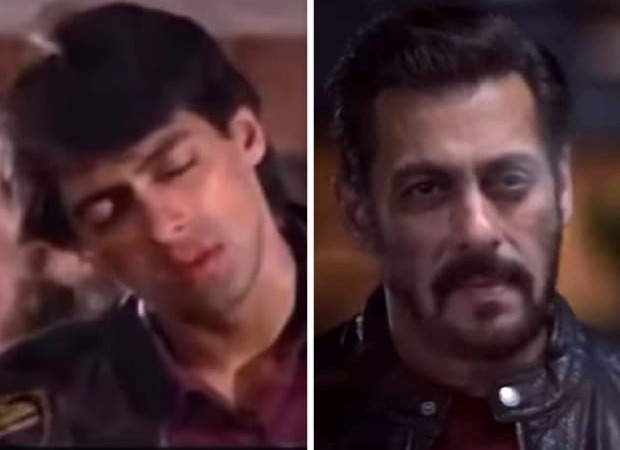 Salman Khan gives hilarious twist to Maine Pyar Kiya kiss amid Coronavirus outbreak, watch video