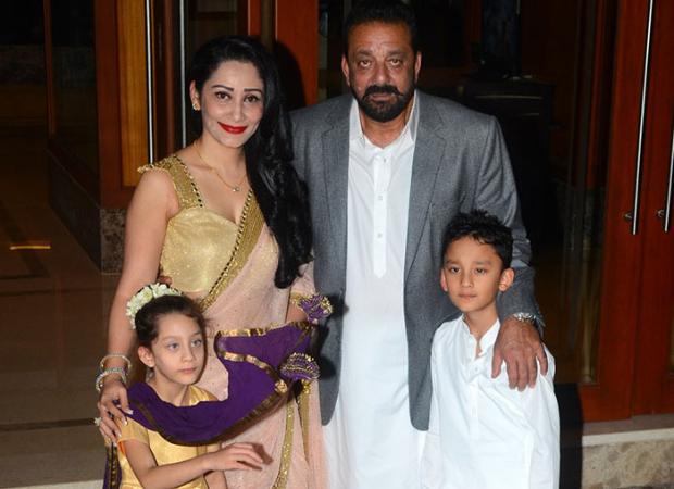Sanjay Dutt misses his family as Maanayata Dutt and kids Iqra and Shahraan are stuck in Dubai amid