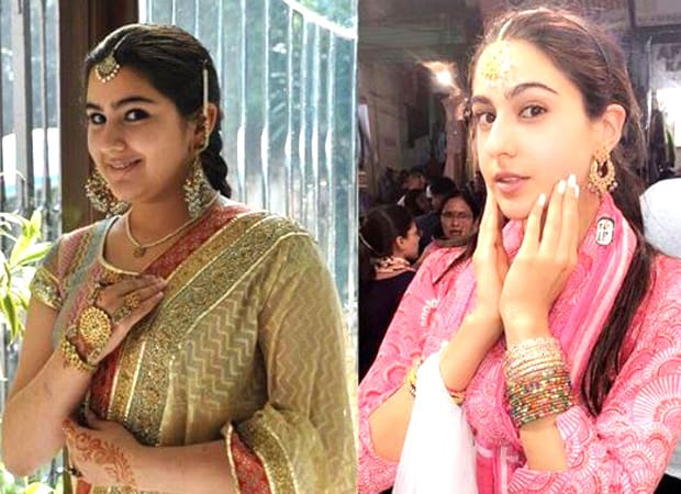 Sara Ali Khan describes herself a creepy kid in a throwback picture