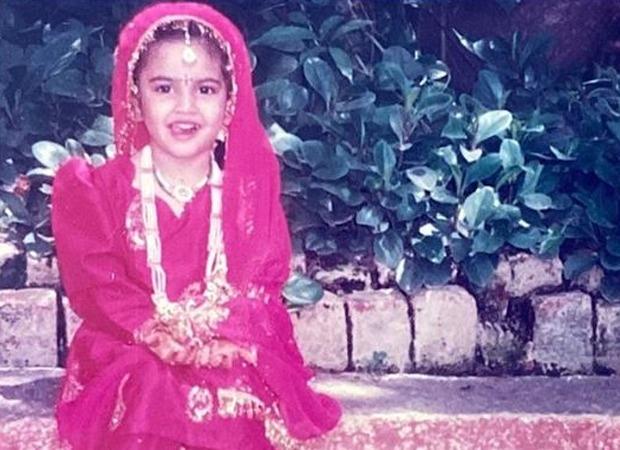 Kriti Kharbanda shares a childhood picture; Pulkit Samrat says 'Shaadi Mein Zaroor Aana'