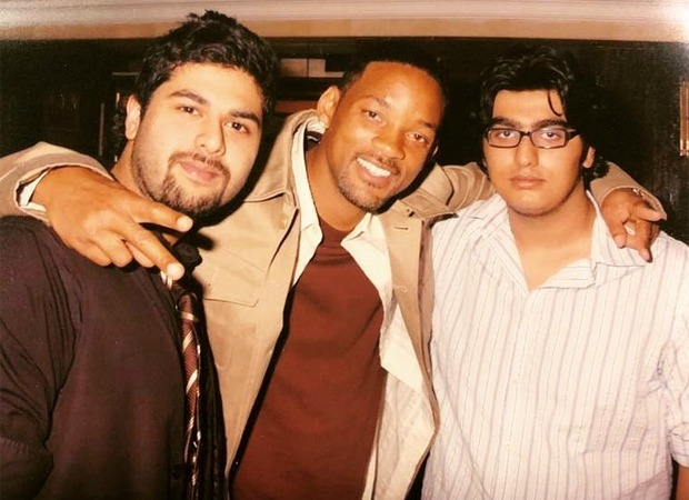 Throwback to the time when a chubby Arjun Kapoor hung out with his 'boy' Will Smith