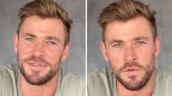 Extraction actor Chris Hemsworth shares heartfelt message amid coronavirus pandemic, reveals he was excited to return to India