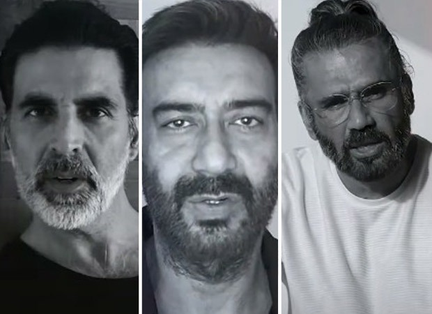 Akshay Kumar, Ajay Devgn, Suniel Shetty and more feature in Gully Gang Entertainments trilingual music video for