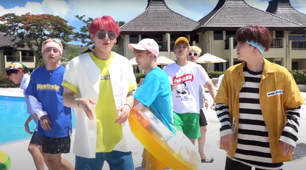 BTS FESTA 2020 The opening ceremony begins with Airplane Pt. 2 in Saipan and we indeed love the summer version a lot