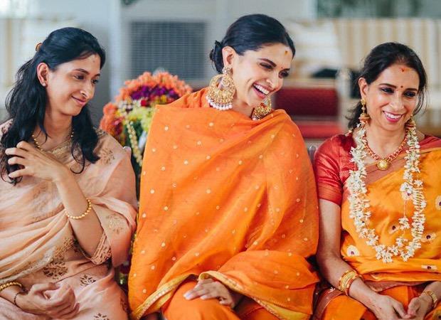 Deepika Padukone shares an unseen picture with her mother Ujjala Padukone and sister Anisha Padukone from her wedding rituals