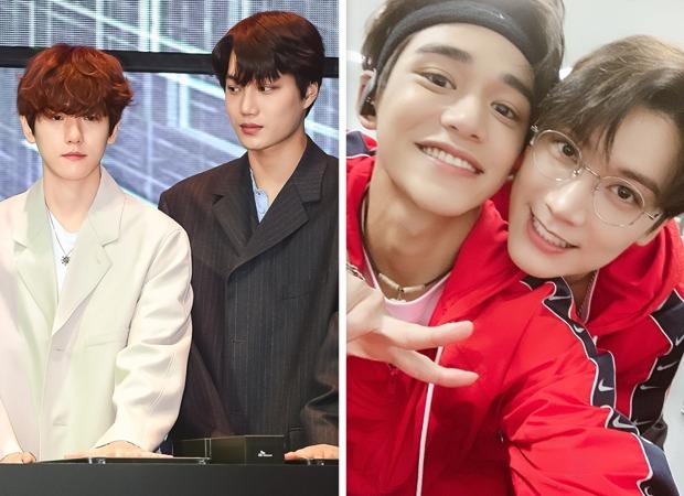 Exo S Kai And Wayv Members Ten And Lucas Take Up Baekhyun S Candy Challenge And Nail It Bollywood News Bollywood Hungama