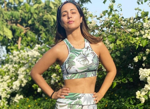 FITNESS GOALS Hina Khan nails the Barre Pilates making it look effortless as ever