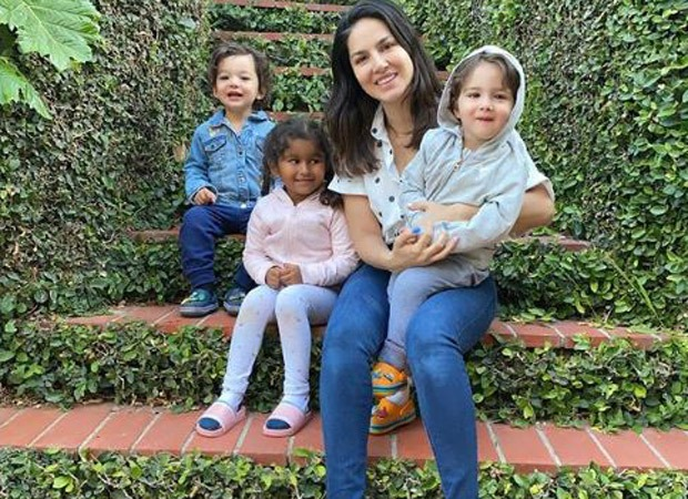 Sunny Leone flies to the US with her family; feels their kids would be safer there