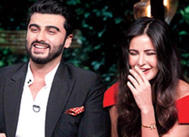 Arjun Kapoor presents Katrina Kaif a slice of mango, however she needs a couple of 3