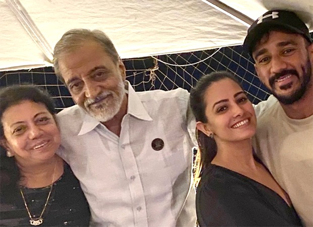 Anita Hassanandani mourns the loss of her father-in-law with an emotional note