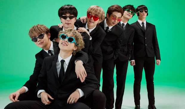 BTS FESTA 2020  The septet feature in family portraits recreating Boy With Luv era solo stages and retro themed looks 1