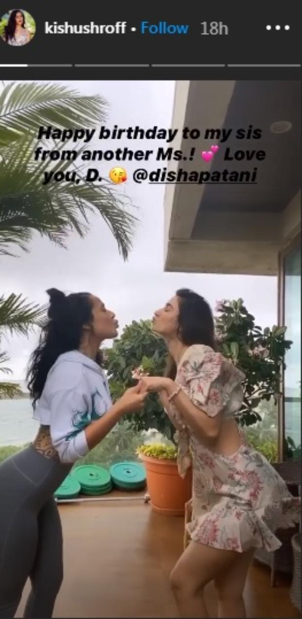 Disha Patani celebrates her 28th birthday with Tiger Shroff's sister Krishna and Naruto themed cake
