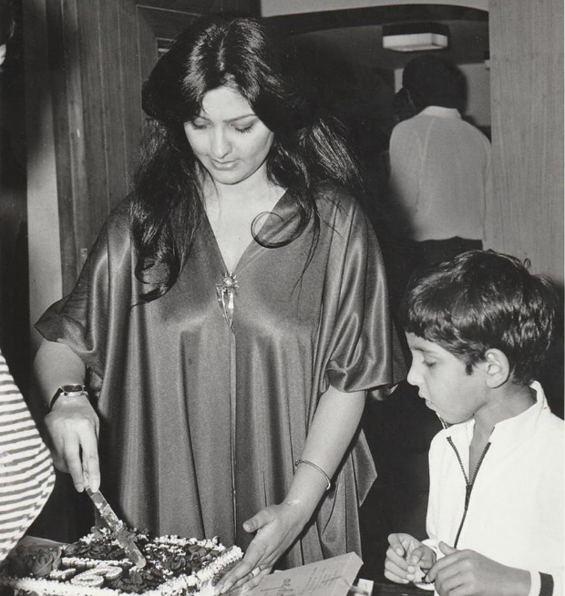 Hrithik Roshan's mom Pinkie shares throwback photo, reveals how the actor was curious about his birthday cakes