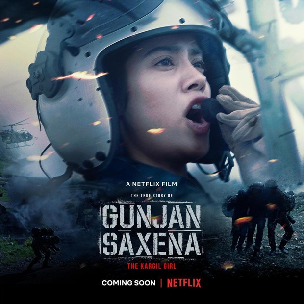 Janhvi Kapoor starrer Gunjan Saxena – The Kargil Girl to release on Netflix, confirms Karan Johar
