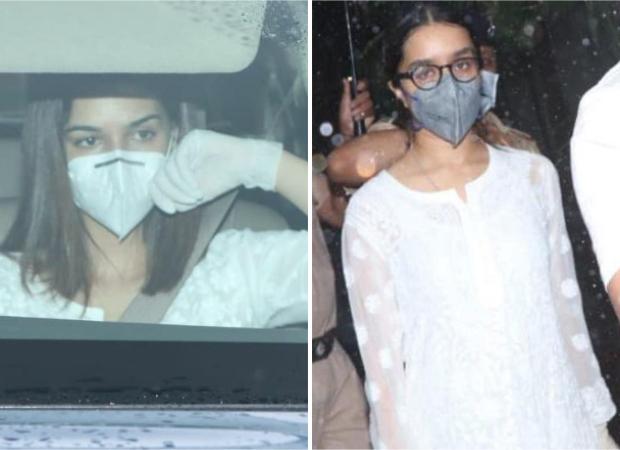 Sushant Singh Rajput S Raabta And Chhichhore Co Stars Kriti Sanon And Shraddha Kapoor Visit Cooper Hospital To Pay Last Respects Bollywood News Bollywood Hungama