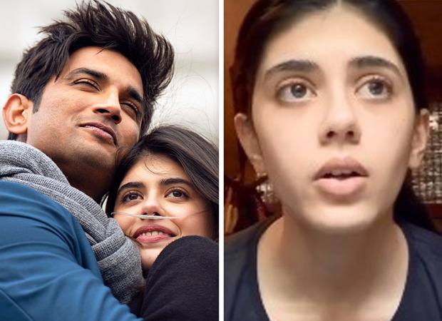 Sushant Singh Rajput's last co-star Sanjana Sanghi of Dil Bechara gets emotional over his untimely demise