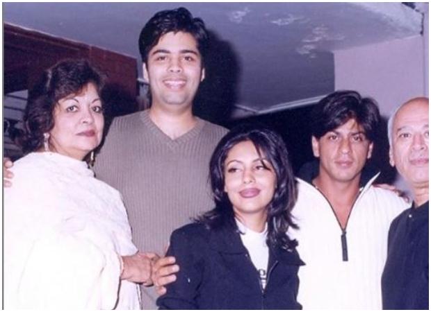 Karan Johar shares major throwback pictures with Akshay Kumar and Shah Rukh Khan