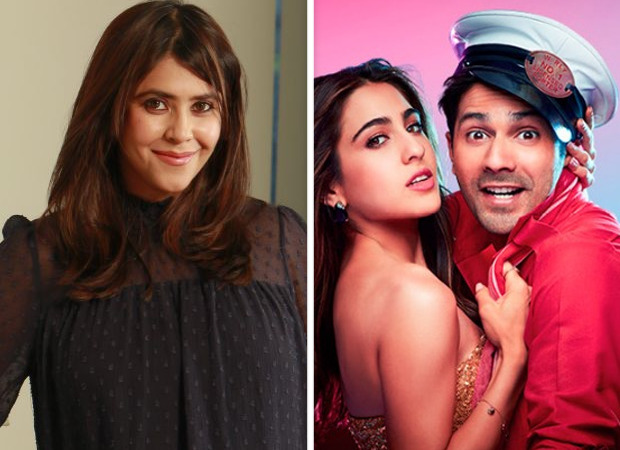 BREAKING Ekta Kapoor buys distribution rights of Varun Dhawan - Sara Ali Khan's Coolie No. 1 for Rs 50 crore