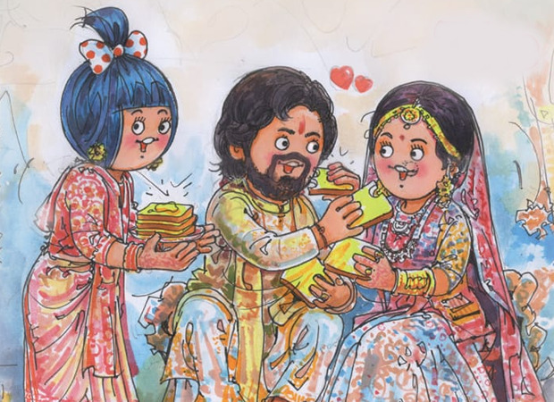 Amul Topical With puns on point, Amul congratulates Rana Daggubati and Miheeka Bajaj on their wedding
