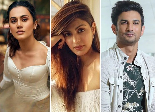 Following the media trial of Rhea Chakraborty, Taapsee Pannu says to trust the law in Sushant Singh Rajput's death case