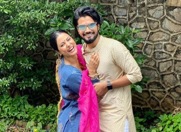 This throwback video of Hina Khan meeting beau Rocky Jaiswal is too cute to miss